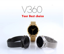 Support IOS Android Health Management V360 Pedometer Sport Wrist Watch Smart Phone