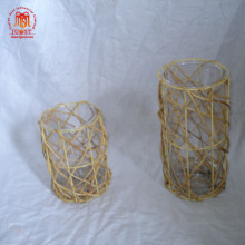 Handicraft Decorative Natural Rustic Office Bamboo Lanterns Wedding