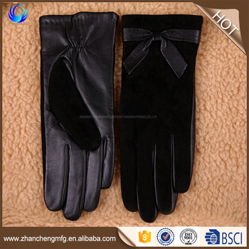 OEM/ODM hand gloves with zipper