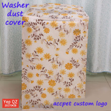 Alibaba China wholesale polyester customized white washing machine cover waterproof