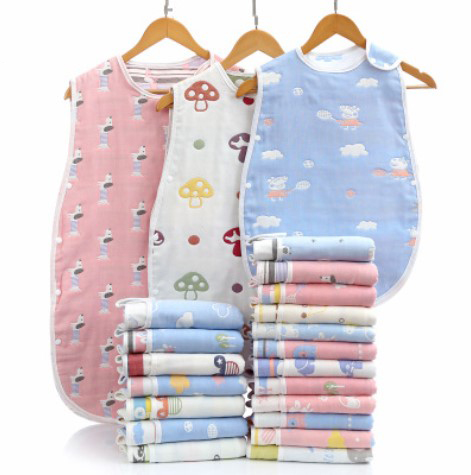 2019 New Style For 3 Seasons 100% Cotton Newborn Baby Sleeping Bag Children