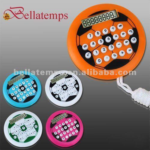 Ball shaped calculator with lanyard BL-2161