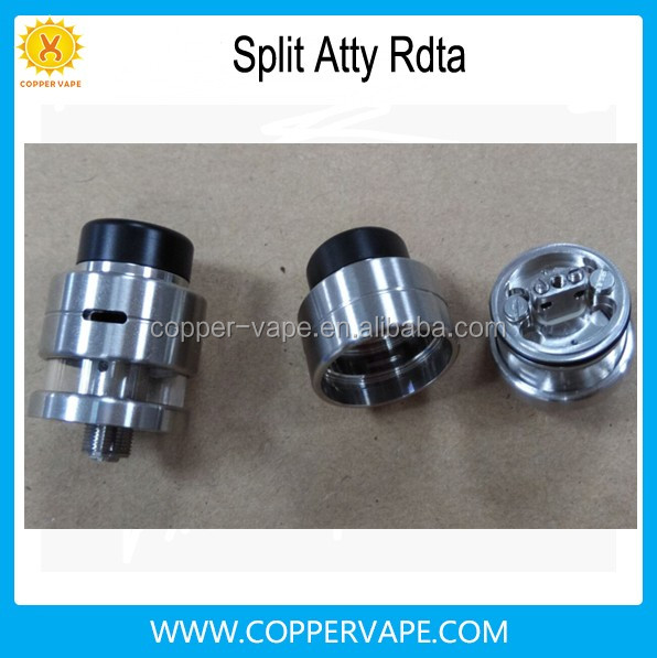 Big clouds bottom feeder pin split atty rda rta 1.3ml single dual coil bottom feeder atomizer