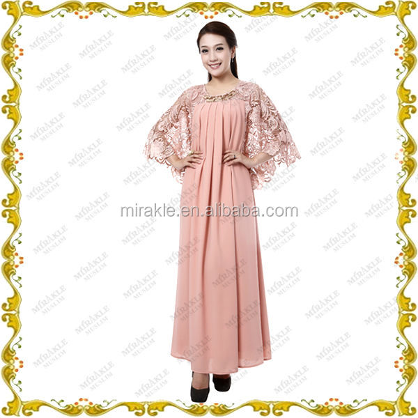 MF21531 2014 beautiful and fancy abaya design for muslim women