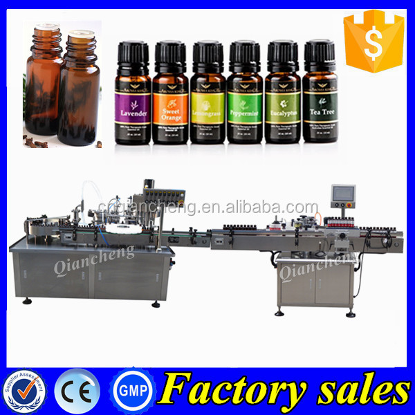 Shanghai factory 10ml bottle filling machine,essential oil filling production line