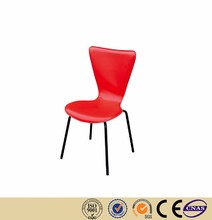 Restaurant Chairs factory red PU leather Restaurant Sofa Chair on Sales