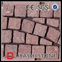 China carmine paving stone for sale