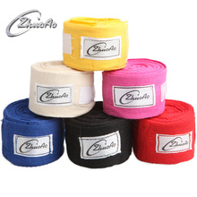 Cheap Custom Hand Wraps Colorful Handwraps Boxing Cotton Custom Boxing Hand Wraps for Length 3M 5M