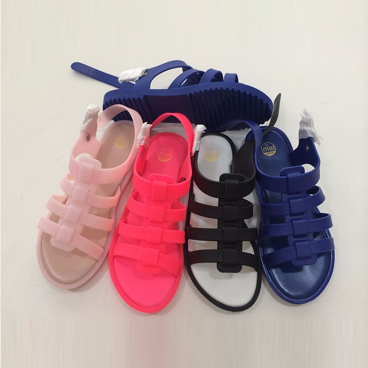 wholesale clear jelly sandals for womens