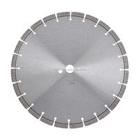 Wet Or Dry Diamond Saw Blade for Concrete for Walk Behind Saws, 14 Inch Dia. 12mm Diamond Depth, Model # NRV 0350 DOT
