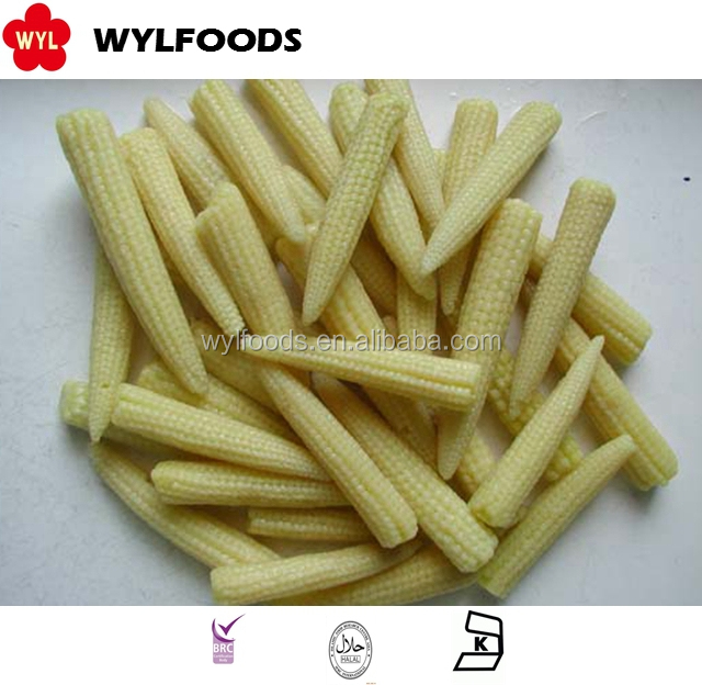 China brands Frozen IQF baby corn