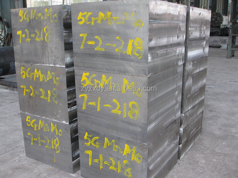 Forged solid steel block