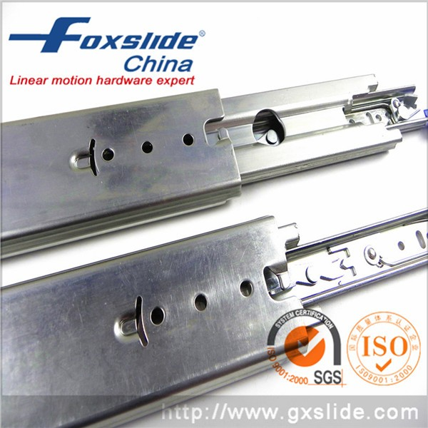 Us General Tool Box Parts Stainless Steel Channel Slide Rail For ATM Machine