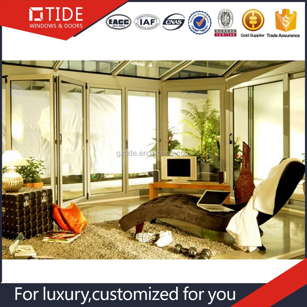 folding door partition for banquet hall