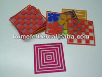 Fashionable plastic drink coasters factory