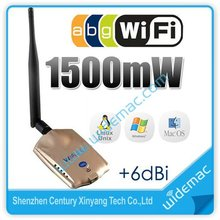Wifisky RTL 8197L Chipset 1000mW High Power Wireless 10G USB WiFi Adapter + 7dBi Antenna
