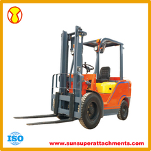 2 Ton Load Capacity 1700mm Lifting Height Diesel Forklift Manufacturer in China