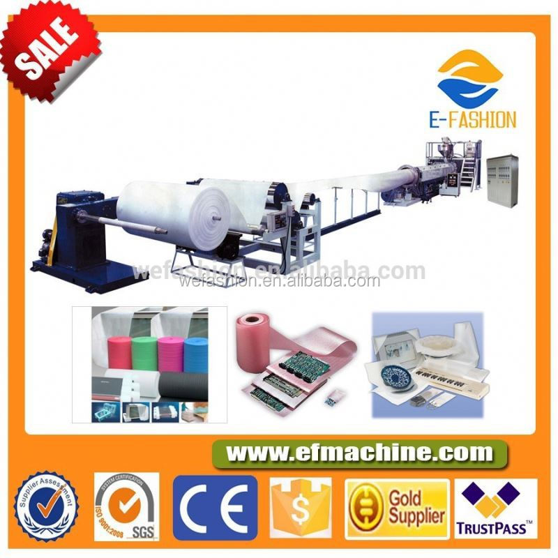 Full Automatic High Output EPE Foam Film Extruder Machine