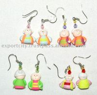 Grandma Granpan clay earring for Kids, Teens