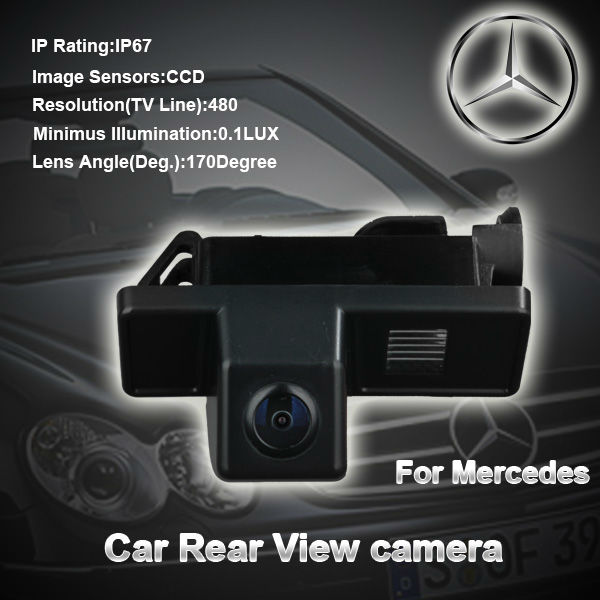 Waterproof car rear view camera for mercedes Commercial CAR