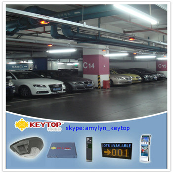 automative vehicle tracking system with parking guidance led display P10.1