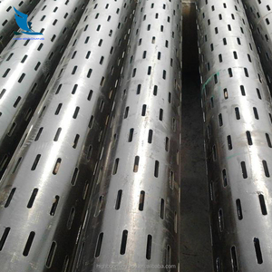 High quality API spec 5CT alloy steel slotted oil well screen pipe