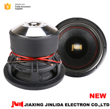 2017 New Frame of JLD AUDIO High quality 1500w powered 10inch Car subwoofer