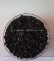 1-5mm Graphite Recarburizer , Graphitized petroleum coke , used for casting