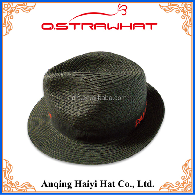 HYSH155 Fashion Straw Hat hot selling men's hat Factory direct
