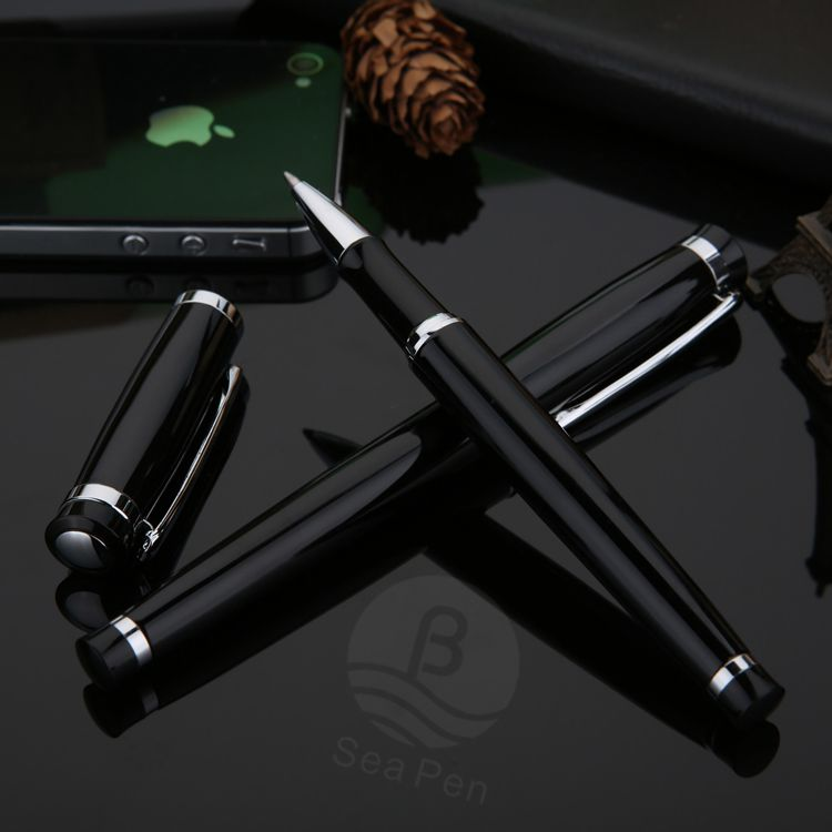 New style simple roller pen with custom logo