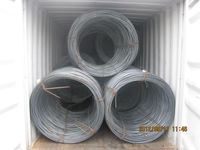 high quality hot rolled low carbon steel wire rod / wire rod price