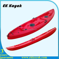 hot sale 3 person roto moulded plastic kayak