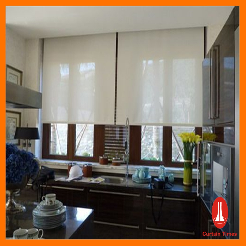 Motorized Interior Roller Blind/blackout motorized roller blinds