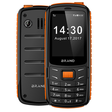 2.4 inch GSM Unlock Dual SIM Cell Phones Rugged Telephone Portable Outdoor Phone K9
