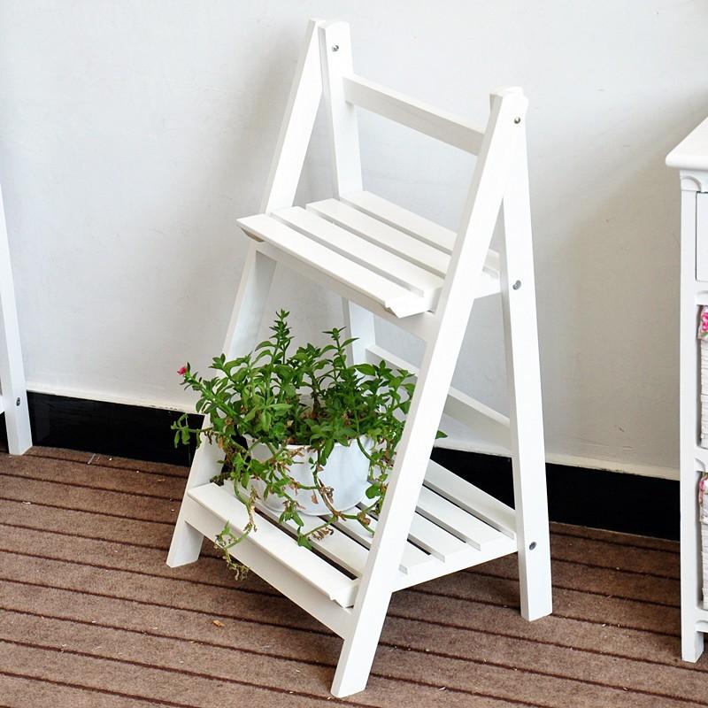 2016 projeto da escada de madeira planta rack cremalheira - Estantes para macetas ...