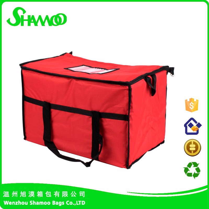 Nonwoven Insulated food delivery lunch cooler bag
