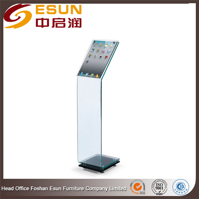 Hot sale simple acrylic design digital Lectern,modern podium for classroom