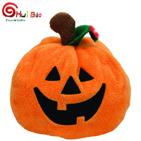 Made in China plush stuffed halloween toy plush halloween pumpkin
