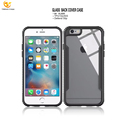 For iPhone 6 Hard Plastic Lighted Mobile Phone Cover Tempered Glass Display Case