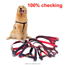 New Colorful Jean Denim Leash Harness Dog Collar Chain Cat Rope Belt Adjustable Collar