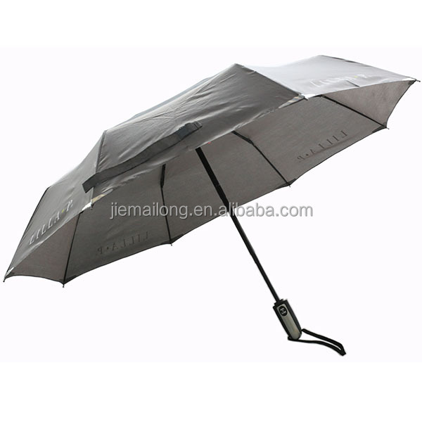 2015 new High Quality Classic three fold men's umbrella windproof auto open auto close