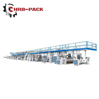 HRB corrugated cardboard production line with A B C D E flute 3 5 7 layer