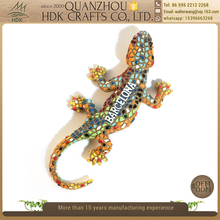 Household decorations mosaic Barcelona gecko tourist souvenir fridge magnet