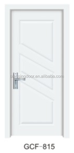 hot sale modern design mdf pvc deep carved wood doors GCF-815