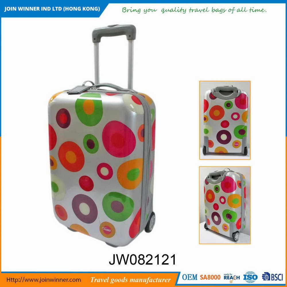 Free design Plastic Trolley Luggage Bag With Long-Term Service
