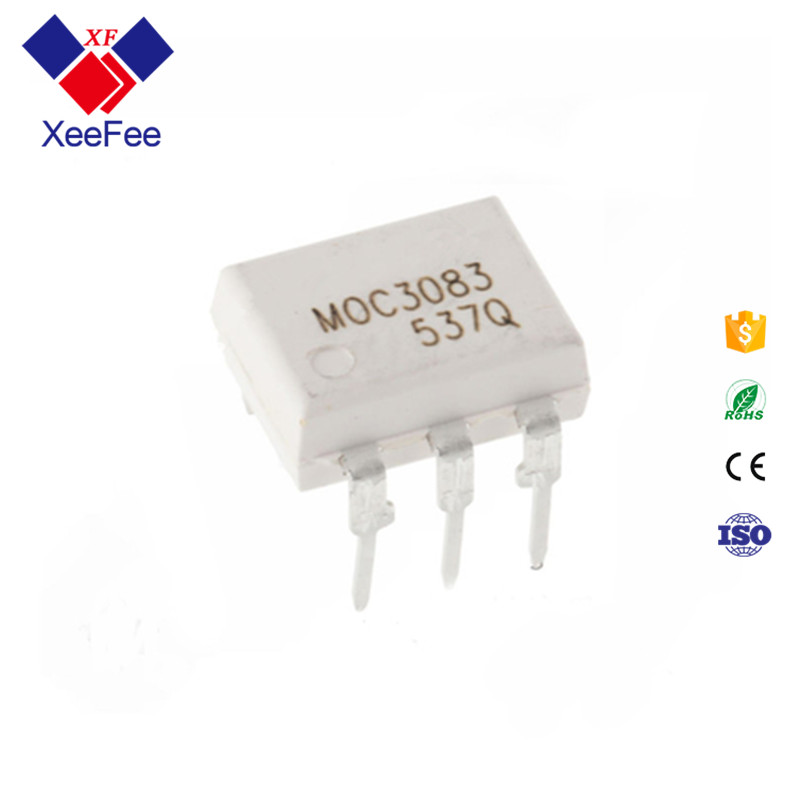 Electronic Components Supplies Optoisolator Triac MOC3083 MOC3083M