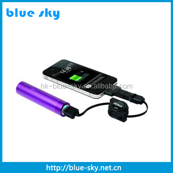 high quality 1200mAh real capacity universal power bank with fc ce rohs