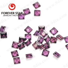 Wholesale Price Square Natural Small Size Gemstone Rhodolite Rough For Jewelry Making