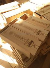 Wood Material and Accept Custom Order wooden wine boxes for sale