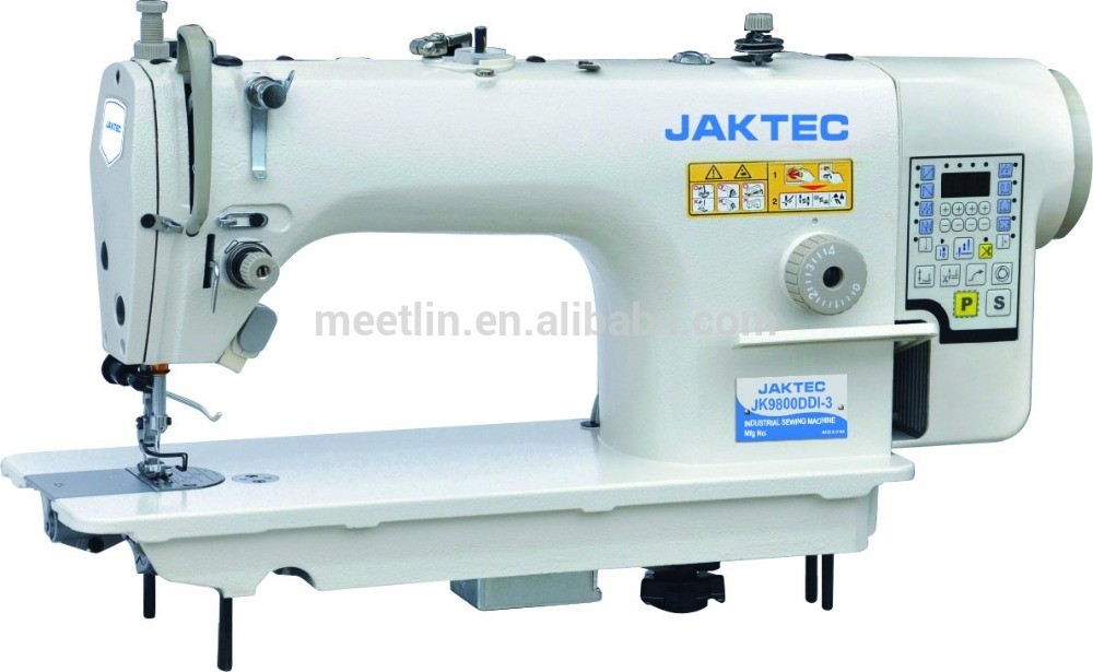 JK9800DDI-3 Direct-drive computerized industrial sewing machine , computer lockstitch sewing machine JAKTEC brand